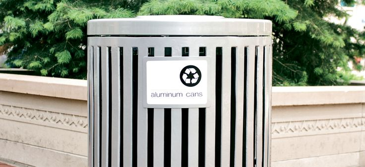 Chase Park Litter Receptacle #landscapeforms #landarch #architecture #sitefurniture #outdoorsolutions #architecture #outdoor #beinspired