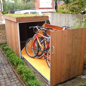Outdoor Bike Storage Cabinet