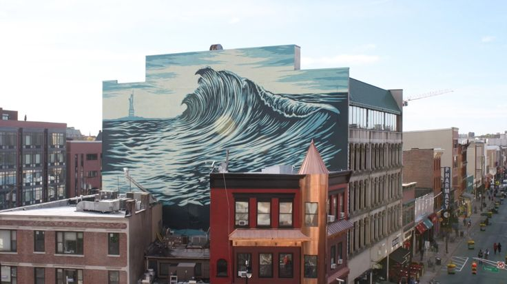 The Jersey City Wave: Shepard Fairey