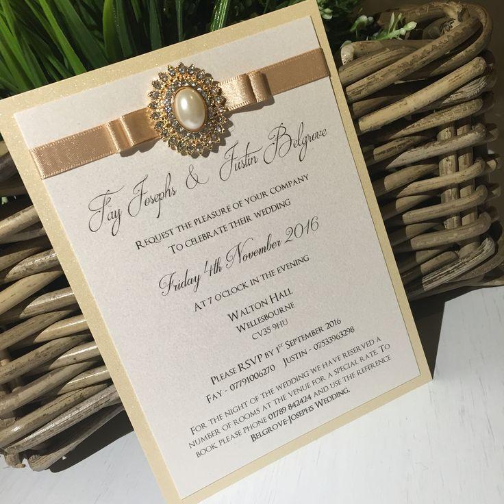 mini book wedding invitations uk%0A A glamorous chic Evening invitation to match the day time pocket fold Wedding  invitation