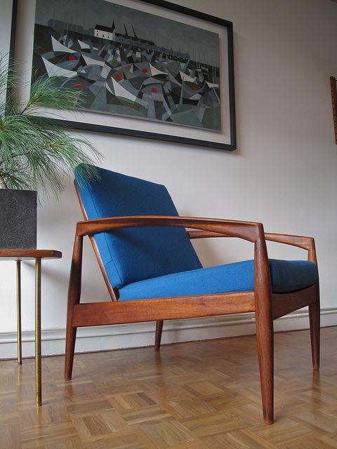 Kai Kristiansen; #120 Teak Armchair for Magnus Olsen, 1960s.