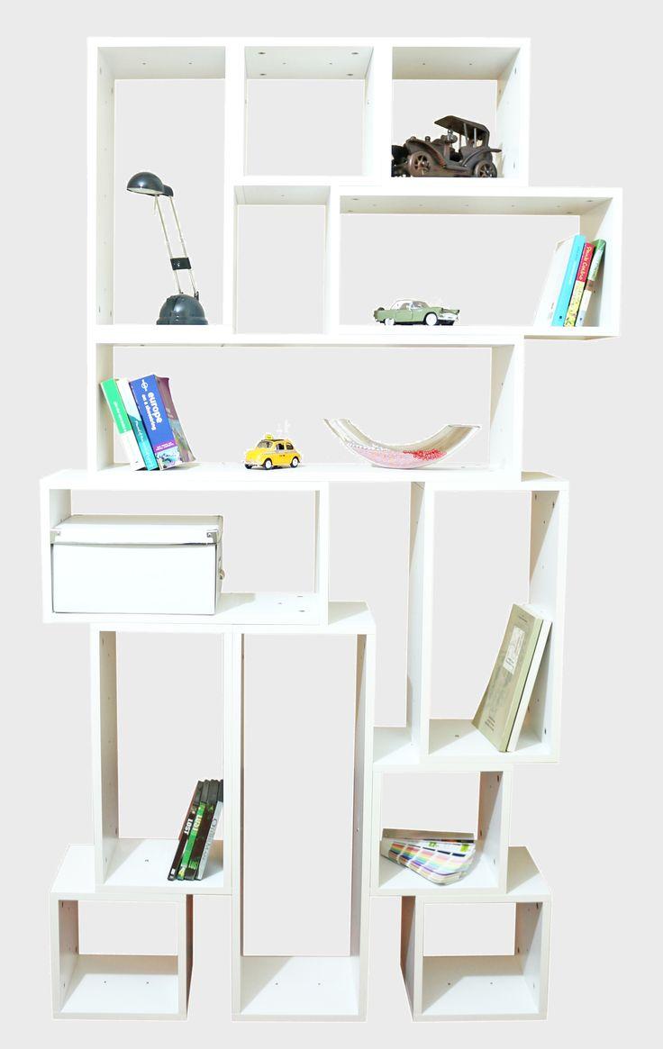 Doğal Ahşap Kitaplıklar www.mozilya.com