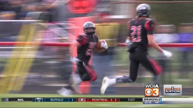 WCIA -- Scores from the quarterfinal round of the high school football playoffs