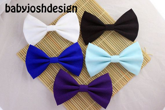 Solid Color Fabric Hair Bows,Pastel Fabric Hair bow for teens or women,girls hair bows,basic hair bows , Hair Bows on Etsy, $3.99