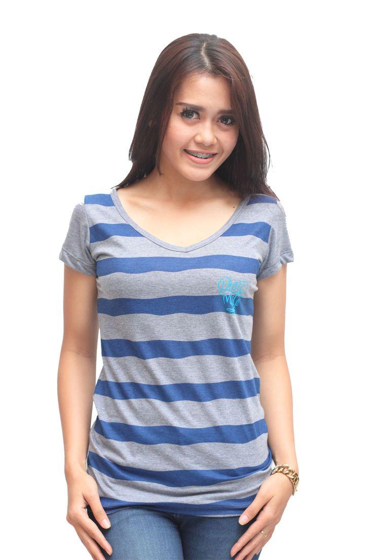 """STRIPE LOVE"" Dynamite Bali Grrrl Series #brand #clothing www.dnmtloudfast.com"