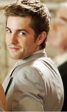"Jim Sturgess.  Didn't think he was all that attractive in ""21"", but in ""One Day"" gorgeous!"