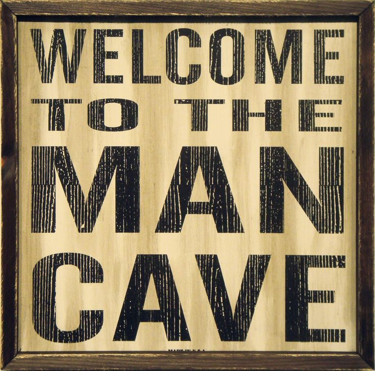 Man Cave Vintage Signs : Country marketplace vintage welcome to the mancave wood