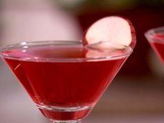Receta de Martini de Manzana con Arándano