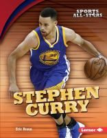 """""""Stephen Curry"""" by Eric Braun. """"Stephen Curry is considered to be the greatest shooter in National Basketball Association (NBA) history. He's set the record for the most three-pointers made in a regular season. He's also been named league MVP for multiple seasons. Stephen Curry is an impressive athlete, but his life off the court is just as fascinating. Learn about his rise to stardom, his intense training drills, how he works hard to be a mentor to kids, and much more."""""""