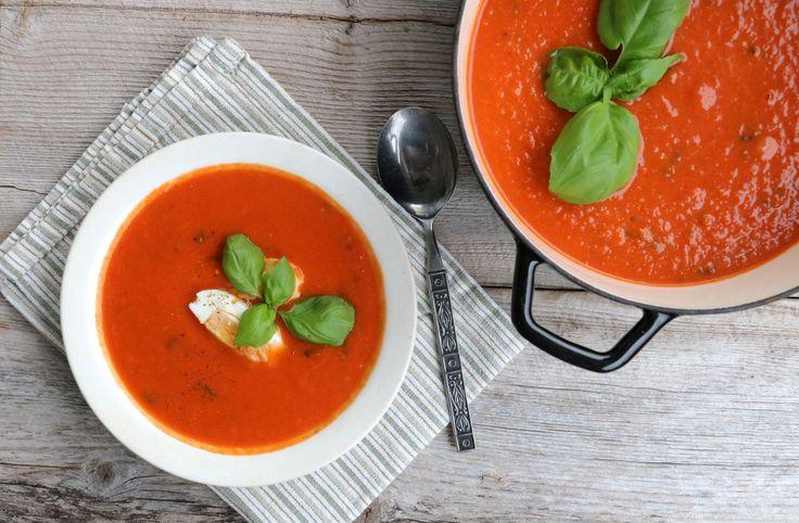 Verdens beste heimelaga tomatsuppe.