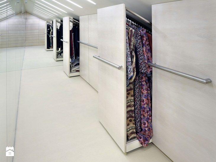 garderoba - szafy w skosie dachu - zdjęcie od Metropolis2