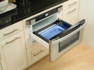 "Built in Microwave Drawer- Sharp 24"" by Warners Stellian Appliance"