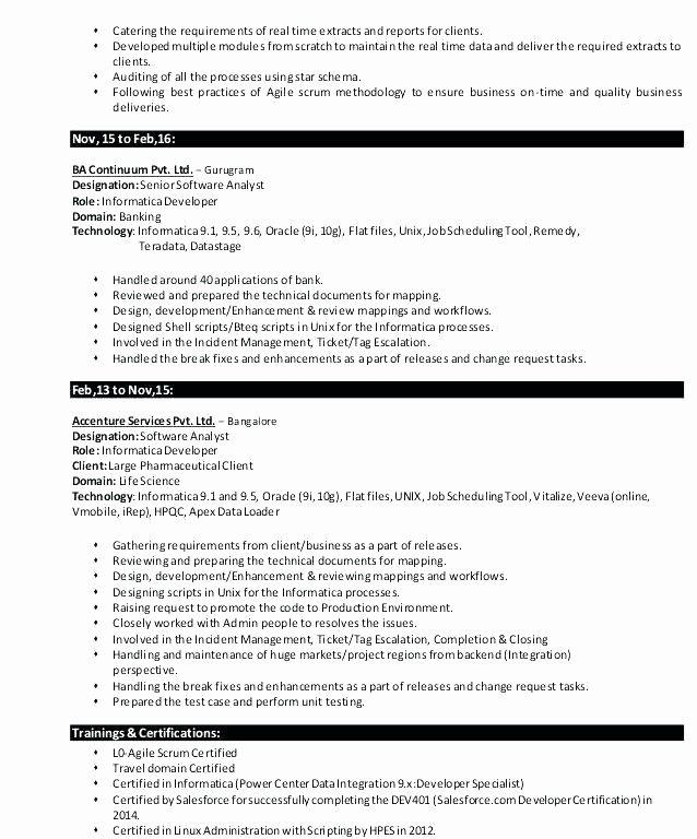 Awesome Salesforce Developer Resume Developer Resume Fresher Salesforce Developer Salesforce Resume