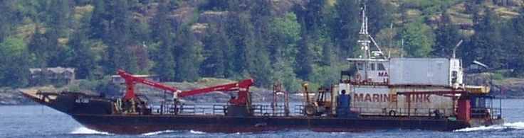 Built in 1987 by Behan Marine Services Ltd. Steel hull, 128 feet long, it services Nootka and Kyuquot Sound out of Gold River BC through Nootka Sound Services.