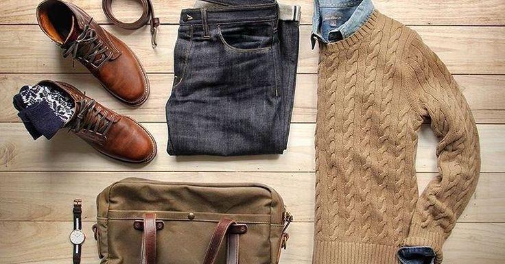 Une tenue d'automne réussie, aux couleurs douces et aux pièces durables et confortables, par @thepacman82 - JAMAIS VULGAIRE, blog mode homme, magazine et relooking online