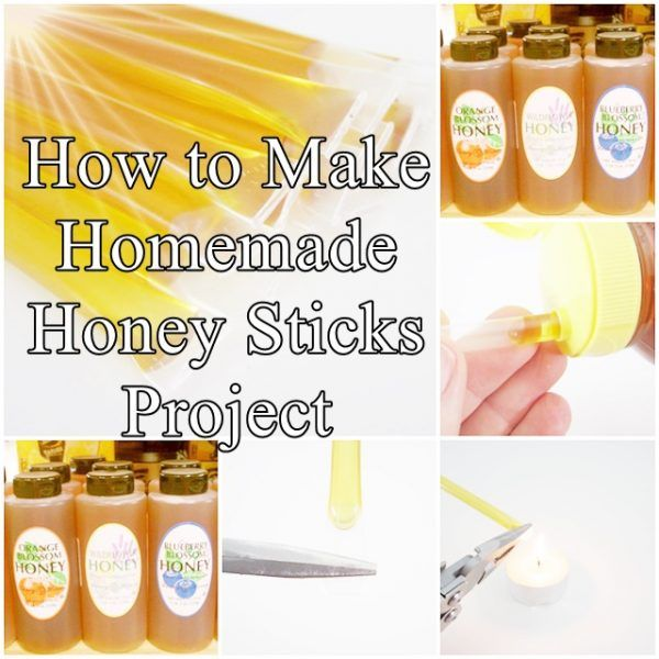 How to Make Homemade Honey Sticks Project Homesteading  - The Homestead Survival .Com