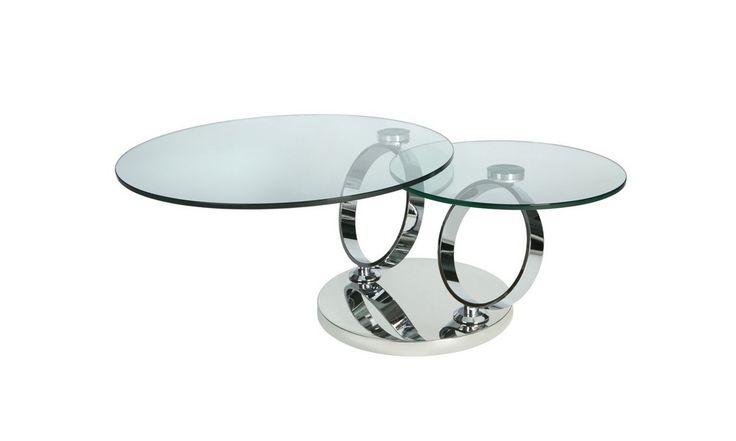 Alnwick Twin Round Coffee Table