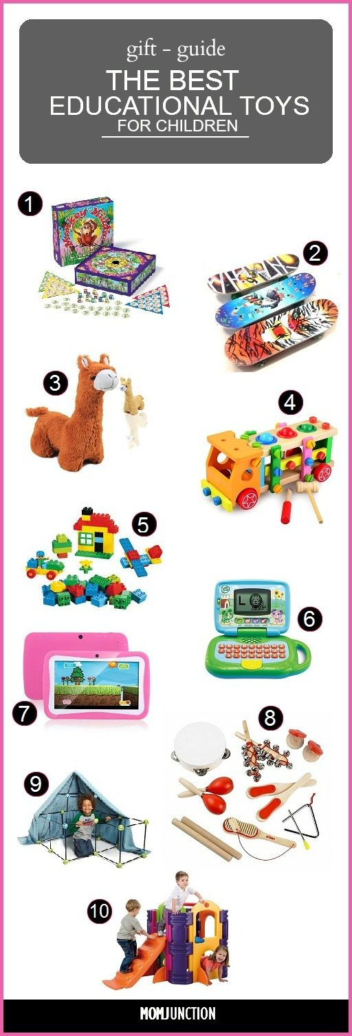 We have prepared a set of 10 top educational toys for kids, to make your search easier for you to select the best one for your kid. Here are some popular toys and their benefits