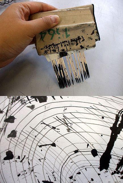 Drawing Tool - Mark making | Flickr - Photo Sharing!