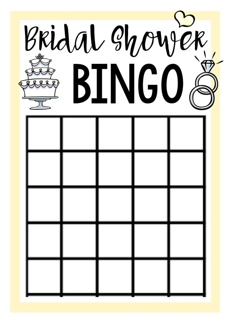Three free printable bridal shower games for you to use at your next bridal shower. We've got Bridal Shower Bingo, Taboo and a fun question game.
