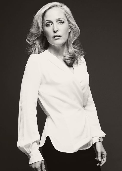 """""""The way she dresses is obviously by choice, but it's not for anybody other than herself. She knows how to take care of herself and she's not going to downplay that so she is treated differently by men.. I love that it gets under their skins."""" - Gillian Anderson on Stella Gibson (Harper's Bazaar UK: Women Of The Year 2013, December issue)."""