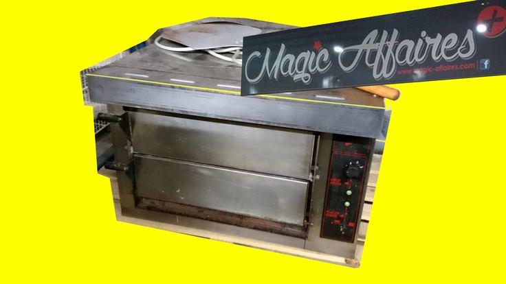 Four pizza BABY 2 TORNATI FORNI électrique 2 chambres professionnel - MATERIEL PROFESSIONNEL/MATERIEL RESTAURATION - magic-affaires-22