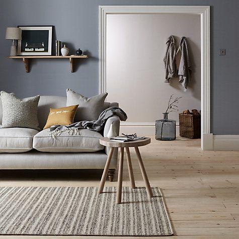 Buy John Lewis Croft Collection Windermere Stripe Rug, Natural Online at johnlewis.com