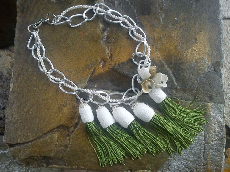 handmade cocoons jewelry - necklace No14