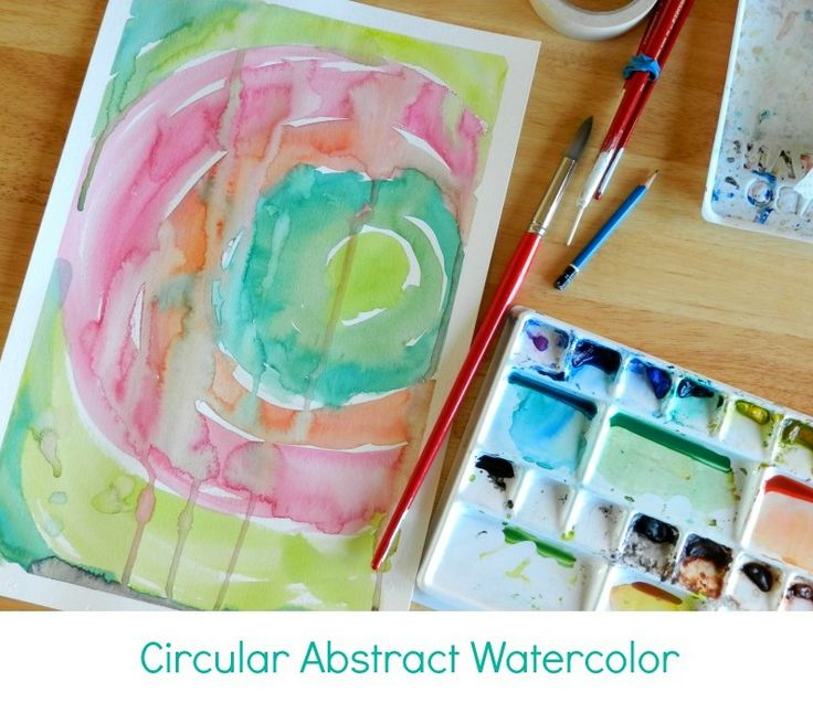 25 best ideas about abstract watercolor tutorial on for Creative watercolor painting techniques