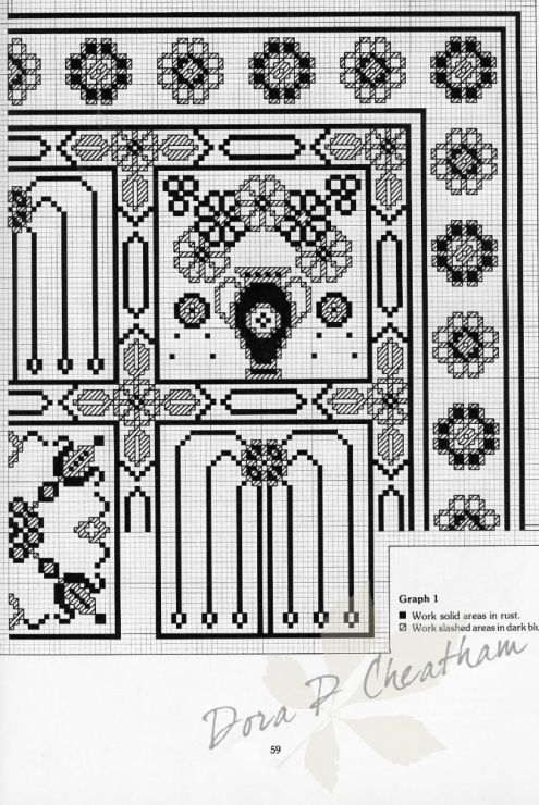 Gallery.ru / Фото #18 - Needlepoint Designs from Oriental Rugs - Dora2012
