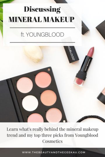 Discussing Mineral Makeup ft. Youngblood Cosmetics