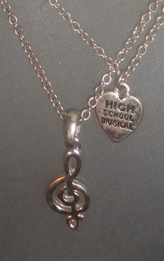 High school musical necklace by PatsapearlsBoutique on Etsy, $22.99