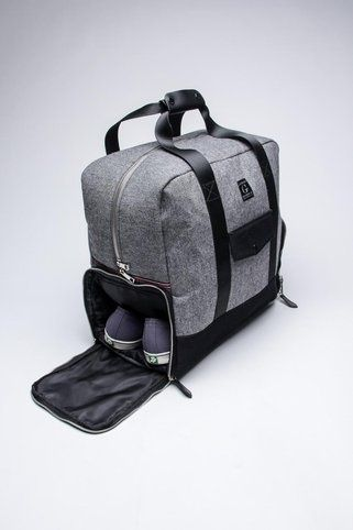 Travel Tote with Shoes Storage.