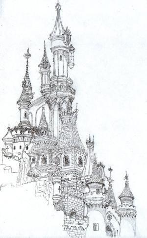 48 best Castle Coloring Pages images on Pinterest