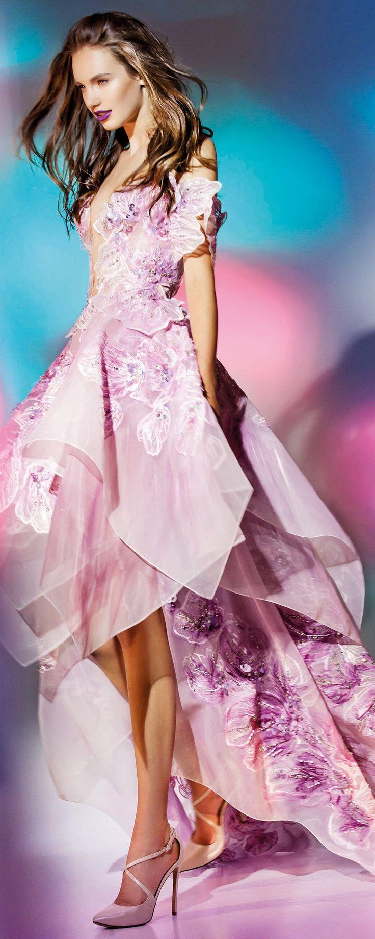"Blanka Matragi ""Elements: Aqua"", Collection 2017 - Haute couture - http://fr.orientpalms.com/Blanka-Matragi-6454"