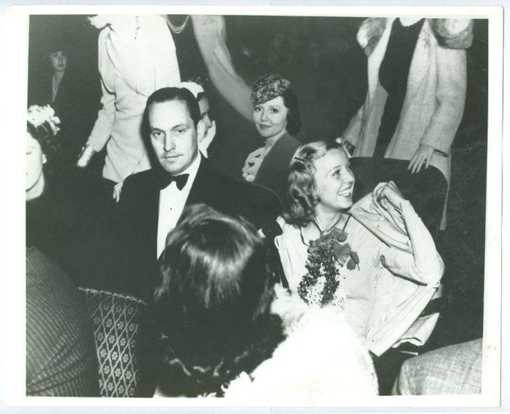 FREDRIC MARCH, MARGARET SULLAVAN, NANCY CARROLL candid movie photo in Collectibles | eBay