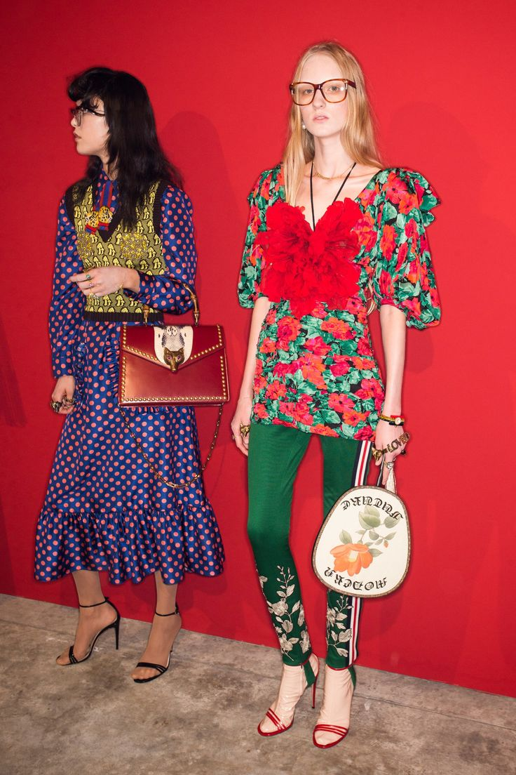 Gucci Spring 2017 Ready-to-Wear Fashion Show Beauty