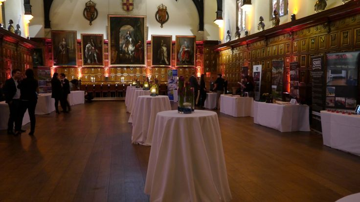 Exhibitors at Middle Temple Hall