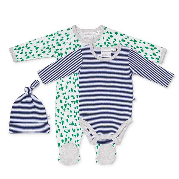 The Marquise Green 3Pce Set Zipsuit Bodysuit set is from the gorgeous new Marquise Autumn/Winter 2016 range of classic luxury styles. All Marquise products are expertly made to keep their shape and quality, wash after wash and are made from the finest 100% breathable cotton.