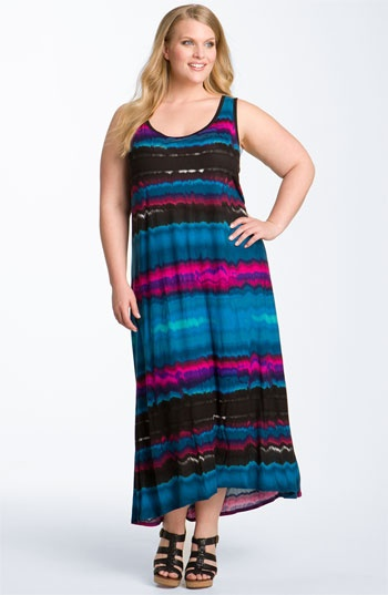 DKNYC Sleeveless Maxi Dress (Plus) available at Nordstrom