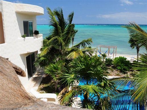 Villa dolce vita in tulum quintana roo mexico beach b for Villas quintana roo