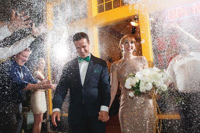 fun wedding exit ideas ecofetti #saphireeventgroup #weddingexits #ecofetti