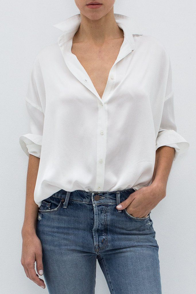 LEILA SILK SHIRT From ShopHeist.com!