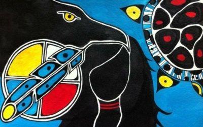 Une auteure autochtone établit un lien important entre notre passé et notre présent en faisant une analogie avec une peinture sur toile.