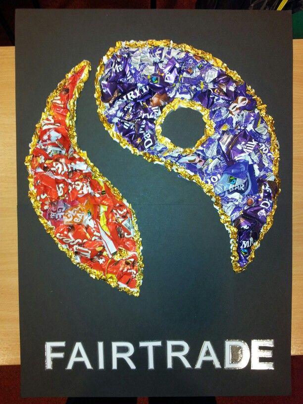Fairtrade wrapper art