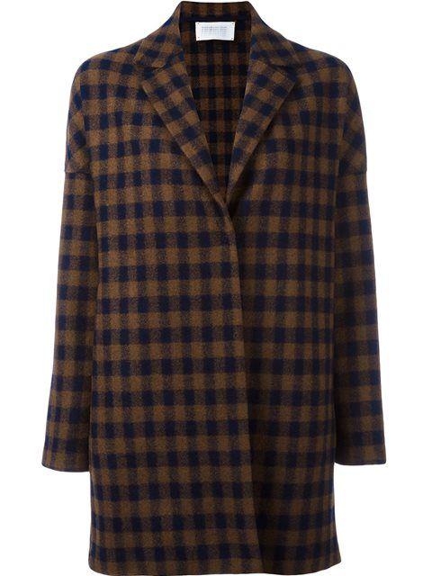HARRIS WHARF LONDON checked coat. #harriswharflondon #cloth #코트