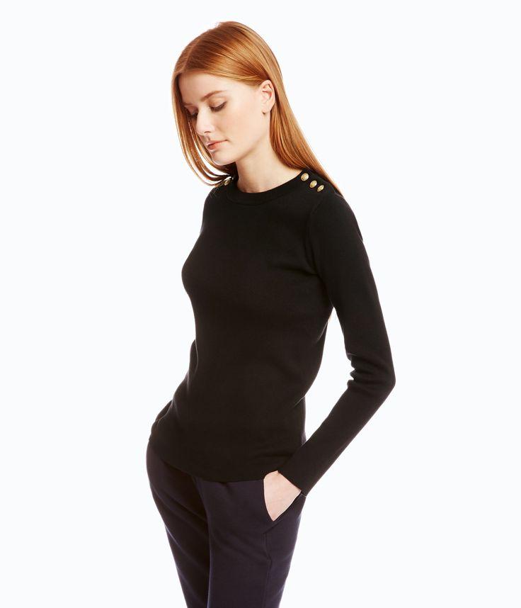 Pull marin femme Noir Petit Bateau prix Pull Femme Petit Bateau 85,00 €