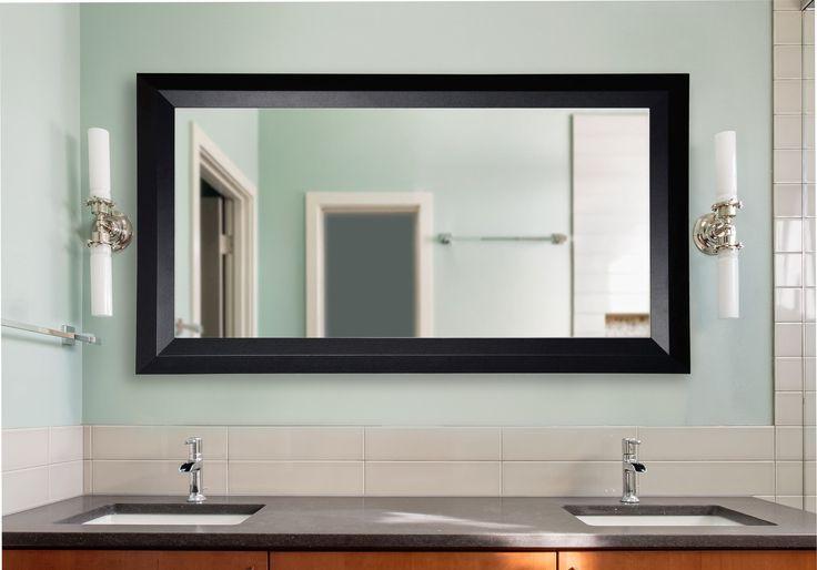 Solid Angle Vanity Wall Mirror
