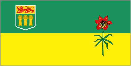 The flag of Saskatchewan