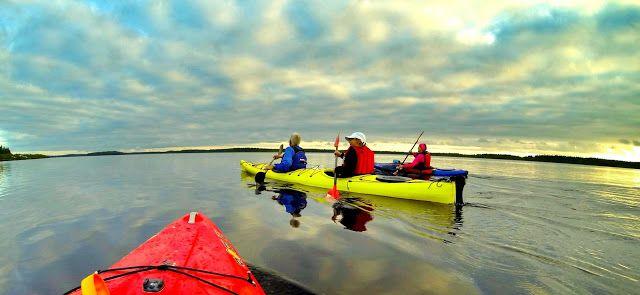 Kajakkikopla: Kyrkösjärvi